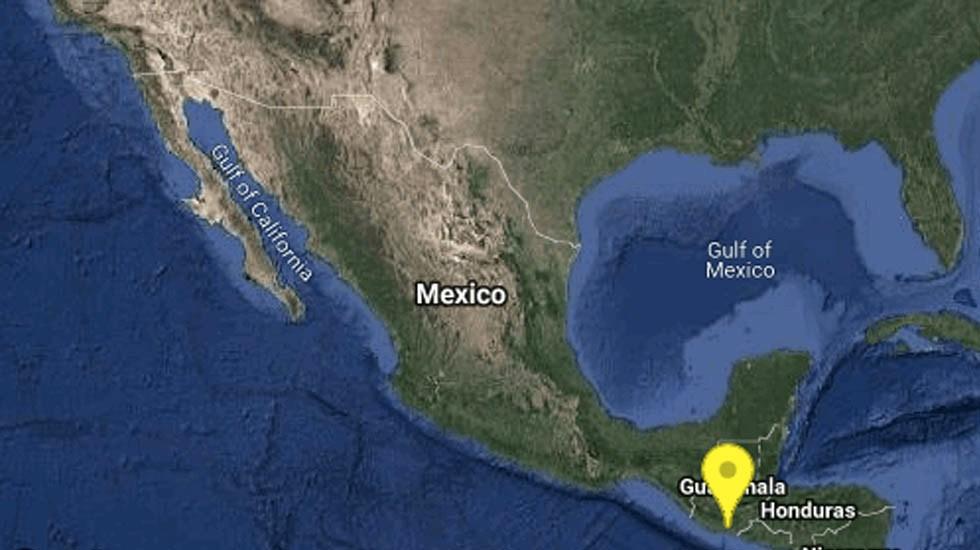 Sismo magnitud 4.7 sacude Chiapas - Sismo Chiapas Ciudad Hidalgo