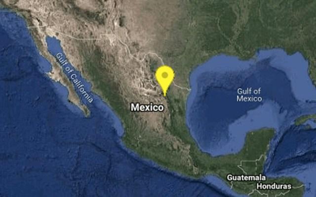 Se registra sismo magnitud 4.2 en Nuevo León - Sismo Monterrey Nuevo León
