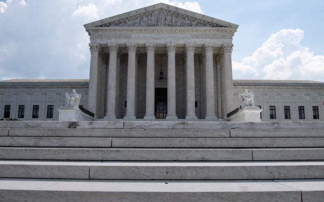 Corte Suprema examinará si Trump puede poner fin al programa DACA - La Corte Suprema de Estados Unidos, en Washington. Foto de NICHOLAS KAMM / AFP.