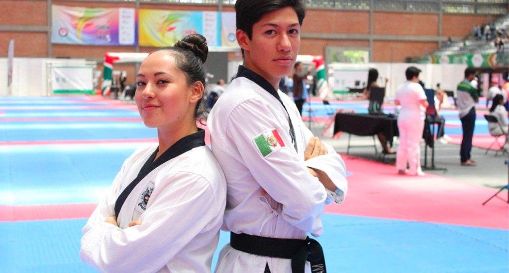 Ana Zulema y Marco Arroyo ganan medalla de plata en el Grand Prix de Taekwondo - Foto de Milenio