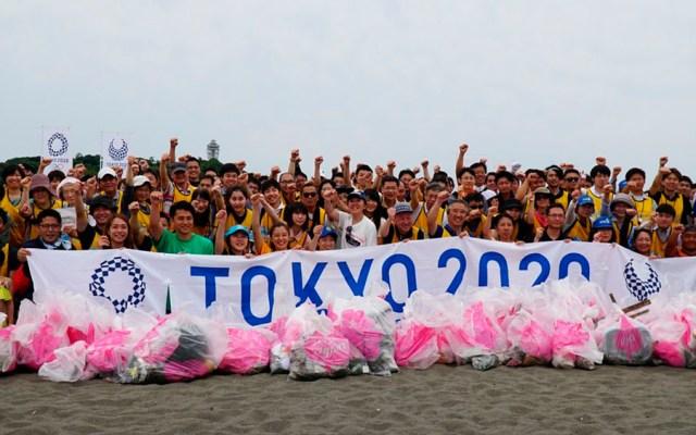 Podios de Tokio 2020 serán de plástico reciclado - tokyo 2020 Podios plástico