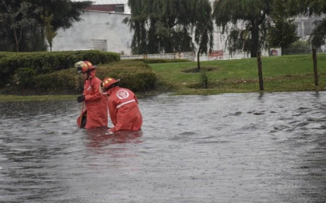 Lluvias dejan severos encharcamientos en Valle de Toluca - Foto de @Dann99Hz