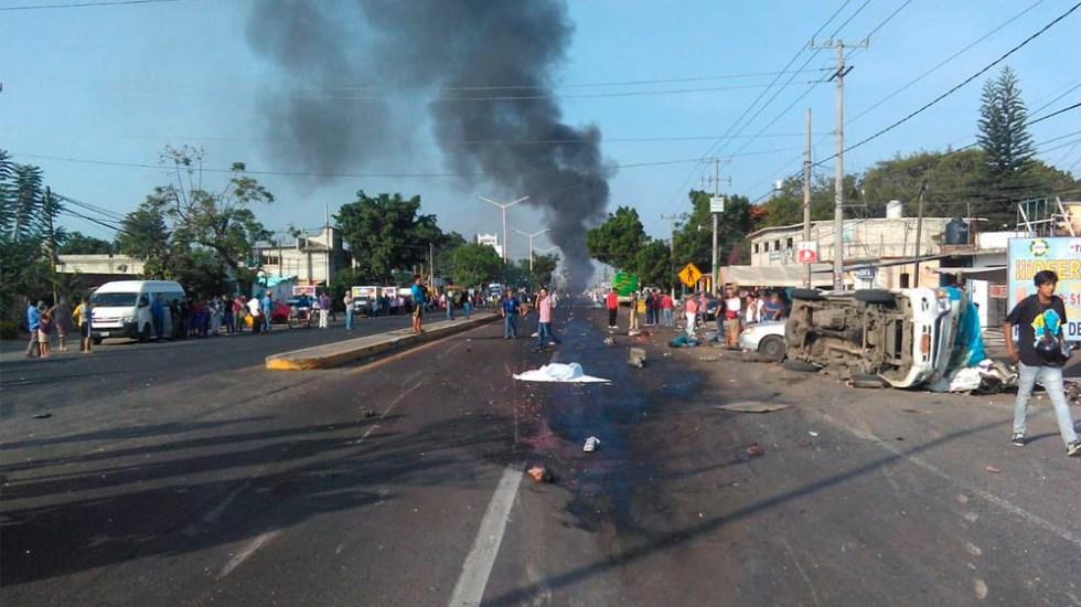 Accidente de tráiler deja al menos seis muertos en Morelos - tráiler morelos cuautla