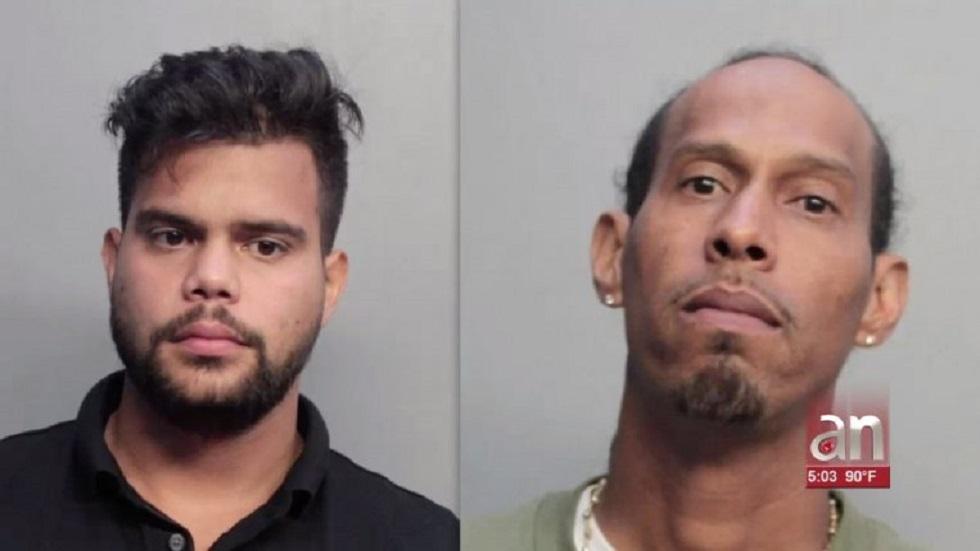 Caen cubano y colombiano por intentar vender 3 kg de cocaína a policía - William Omar Cárdenas Gómez y Enrique Davis. Foto de AméricaTevé