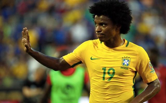 Brasil convoca a Willian como sustituto de Neymar - Willian selección de Brasil