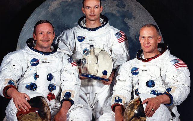 Fama y fortuna de los tres astronautas de la misión Apolo 11 - Foto de EFE.