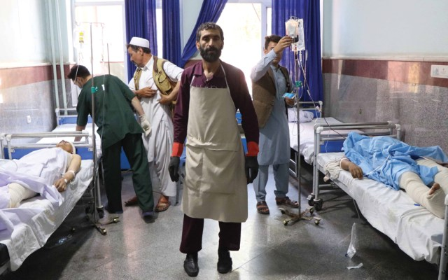 Al menos 34 muertos por explosión de mina en Afganistán - Foto de EFE