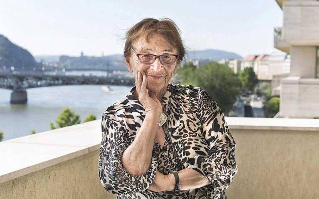 Agnes Heller - Ágnes Heller, en 2017. ZSOFÍA PÄLY