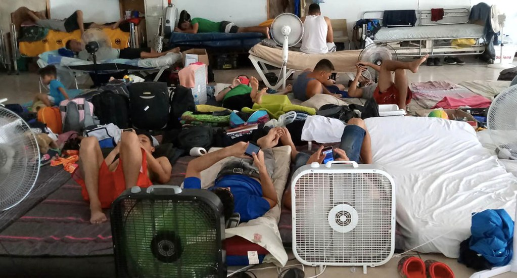 CNDH pide a Coahuila garantizar integridad de migrantes - Albergue estancia migrantes estancias albergues