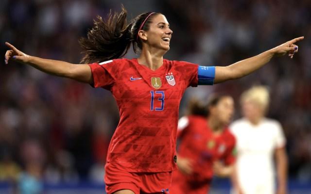 Estados Unidos vence a Inglaterra y avanza a final de Mundial Femenil - Foto de @USWNT