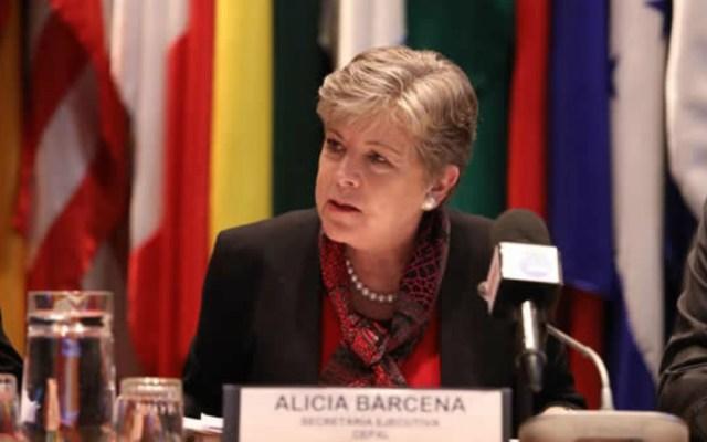 Desaceleración económica se mantiene y el PIB de América Latina crecerá a 0.5 en 2019 - Alicia Barcena, secretaria Ejecutiva de la CEPAL. Foto de CEPAL.