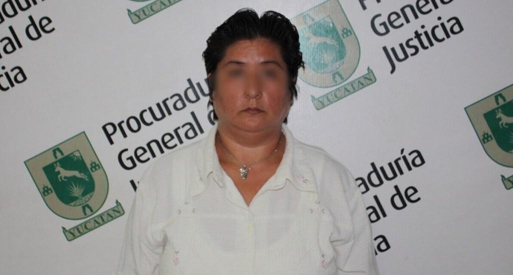Reducen pena a matrimonio que abusaba sexualmente de sus hijos - Alicia López abusaba sexualmente de su hijo y una de sus dos hijas. Foto de El Diario de Yucatán