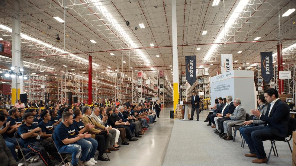 Amazon México inaugura centro de distribución en Tepotzotlán - Foto especial