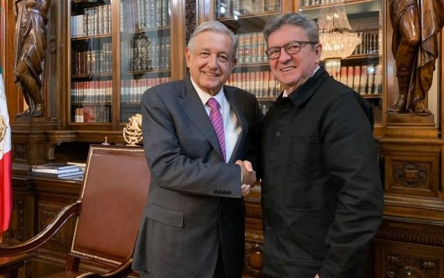 López Obrador se reunió con Jean-Luc Mélenchon en Palacio Nacional - Jean-Luc Mélenchon AMLO