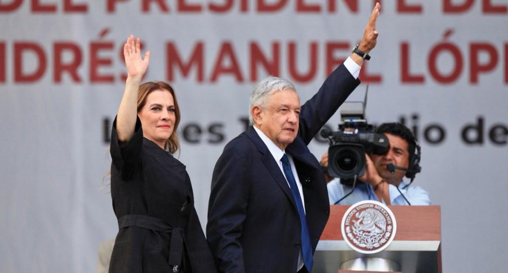 Investigarán evento de aniversario del triunfo electoral de AMLO por infracciones - Foto de Notimex