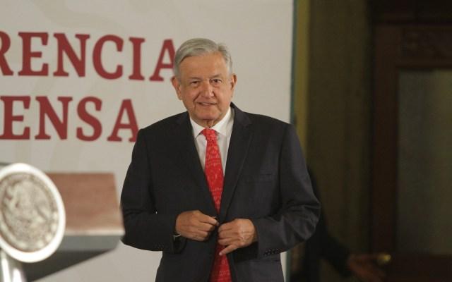 Conferencia de AMLO (19-07-2019) - Foto de Notimex-Gustavo Durán.