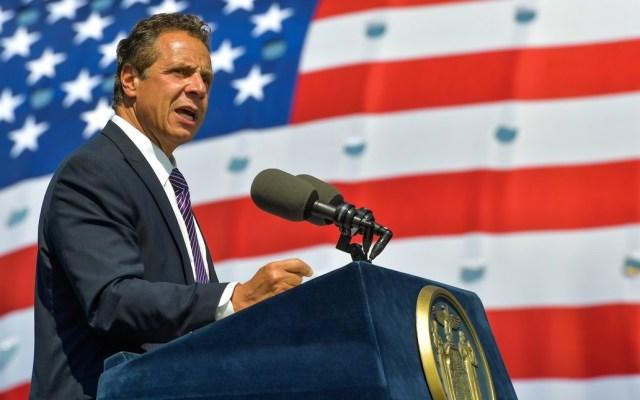 Nueva York apoyará a migrantes frente a redadas anunciadas por Trump - Andrew Cuomo, gobernador de Nueva York. Foto de @NYGovCuomo