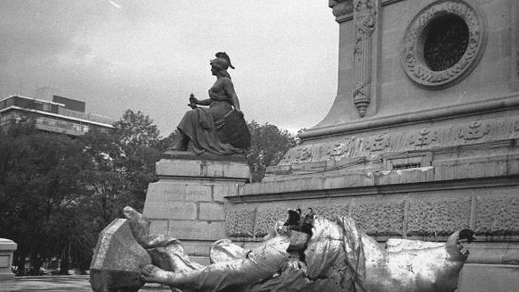 El sismo que tiró al Ángel de la Independencia - Ángel de la independencia Sismo 1957