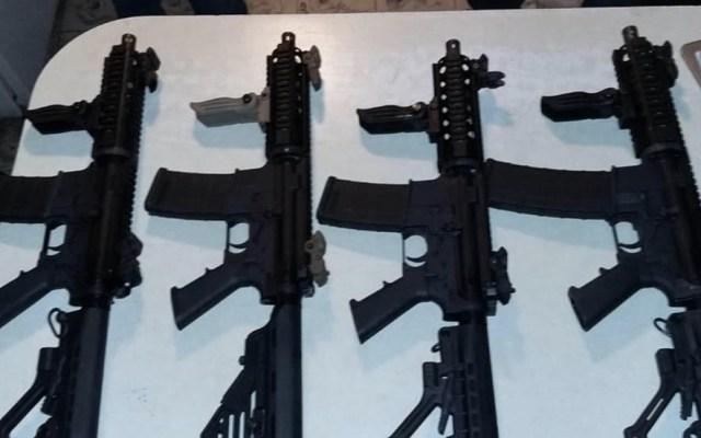 De cada 10 armas decomisadas en México, siete vienen de EE.UU. - Armas decomisadas méxico armas de fuego