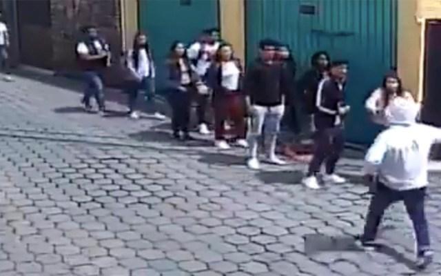 #Video Asaltan a grupo de estudiantes en Coyoacán - asalto estudiantes coyoacán