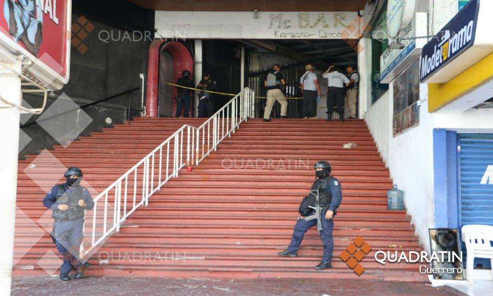 Ola violenta en puerto de Acapulco; 14 personas fueron asesinadas