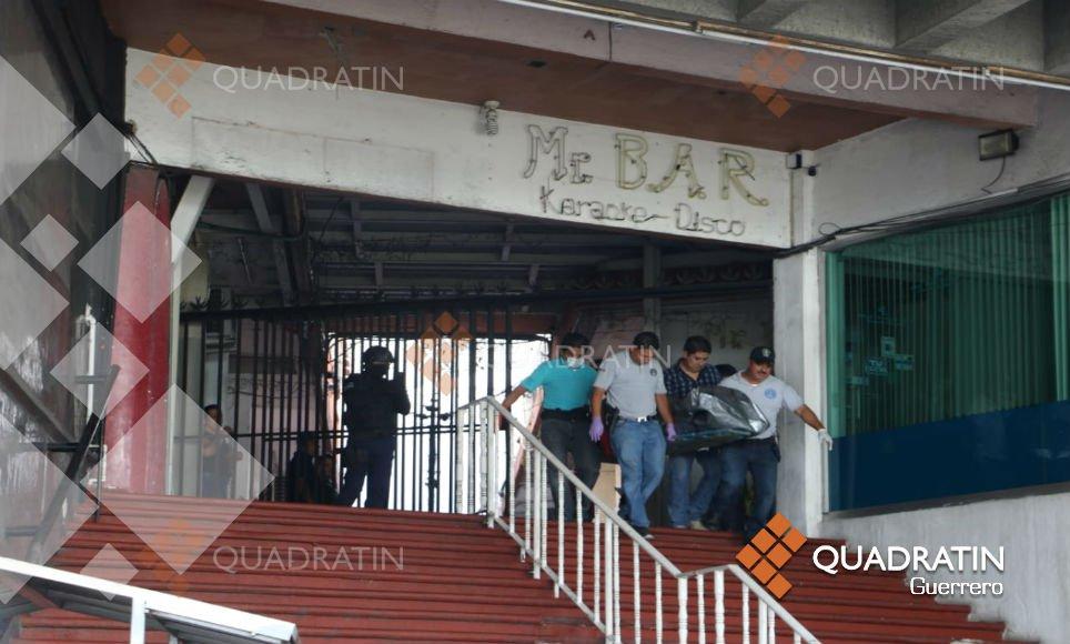 Tiroteo en bar de Acapulco dejó cinco personas muertas y seis heridas