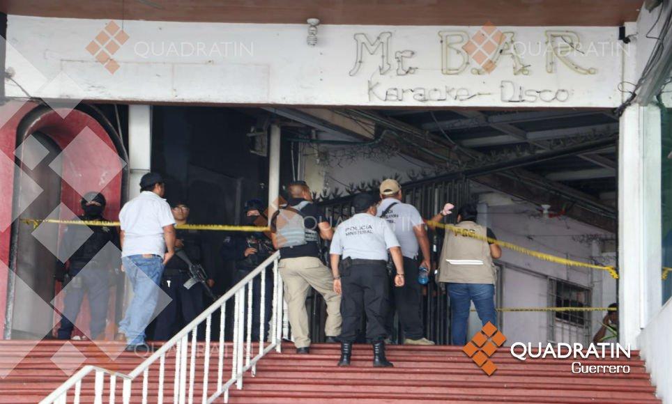 Matan al menos a cinco personas en bar de Acapulco