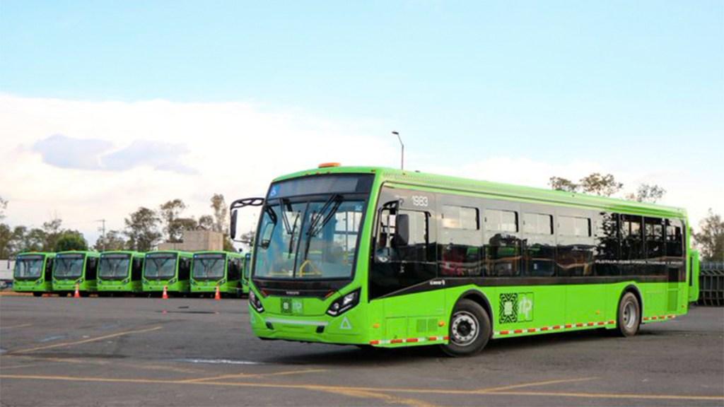 RTP estrena 18 nuevos autobuses de bajas emisiones - autobuses rtp ciudd de méxico