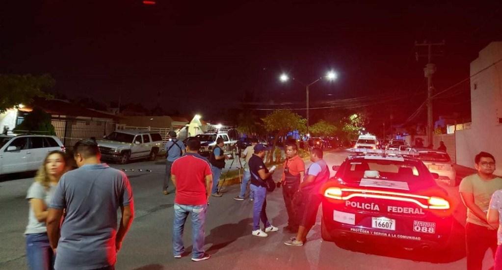 Posible conflicto entre personas, retención de 27 en Cancún: AMLO - Avenida Santa Fe del municipio Benito Juárez, donde fueron 'secuestradas' 27 personas. Foto de Noticaribe