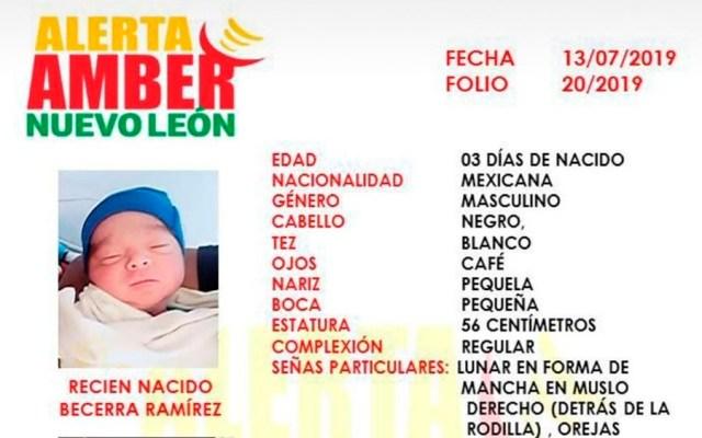Localizan a bebé sustraído de hospital en Nuevo León - bebe robado nuevo león