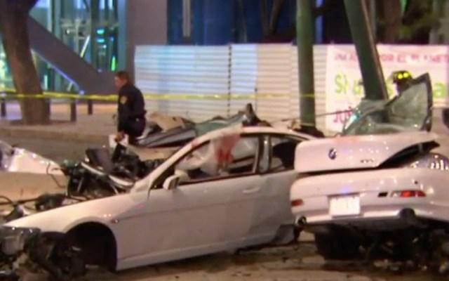 Dan libertad condicional a conductor de BMW que chocó en Reforma - BMW reforma accidente libertad condicional