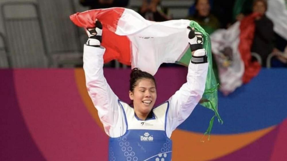 Briseida Acosta logra el oro para México en taekwondo en Lima 2019 - Foto de @CONADE