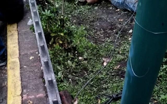Acusan a cadenero de muerte de hombre en la Zona Rosa - Cadáver de hombre en la colonia Juárez. Foto de @c4jimenez
