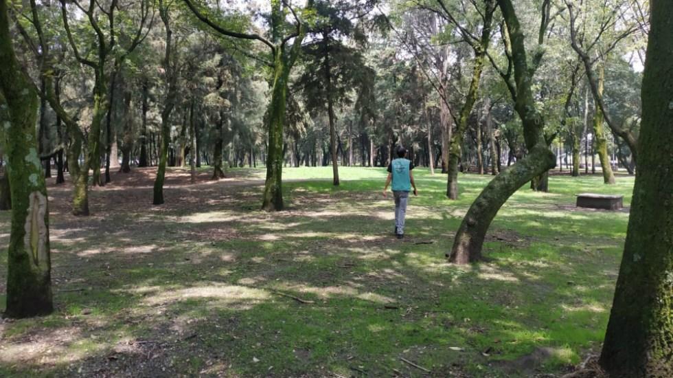 Se retiran indigentes que hicieron campamentos en el Parque Tamayo