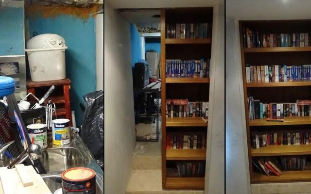 Grupo criminal escondía drogas detrás de un librero en Sydney - Casa Sydney drogas Australia 5
