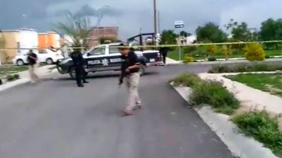Inician investigación por asesinato de agente e hija en Celaya - Celaya asesinato Agente