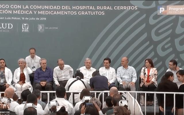 Mensaje de López Obrador tras visita a Hospital Rural de Cerritos, San Luis Potosí