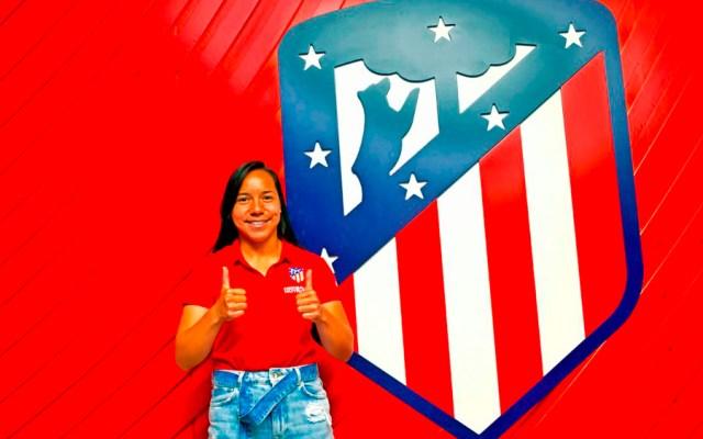 Charlyn Corral nueva jugadora del Atlético de Madrid Femenino - charlyn corral atletico