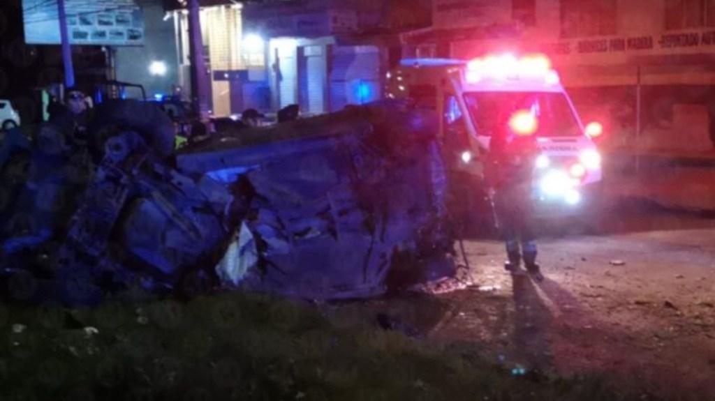 Choque en Avenida Central deja tres muertos - choque avenida central muertos (1)