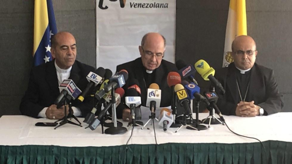 Conferencia Episcopal Venezolana pide convocar a elecciones en breve - Foto de @CEVmedios