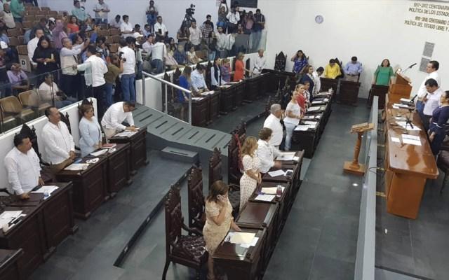 Congreso de Tabasco aprueba ley que castiga las protestas - Congreso de Tabasco aprobación Ley Garrote