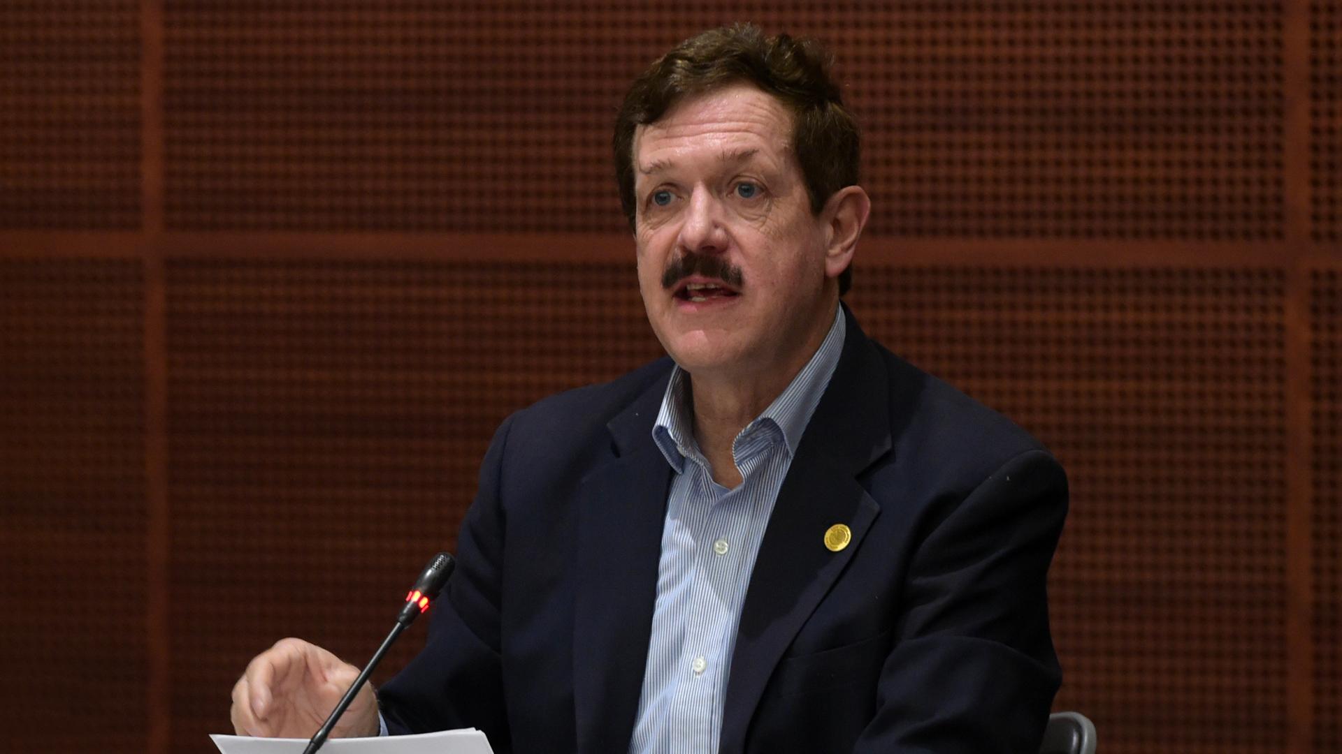 Juan Carlos Romero Hicks, coordinador del PAN en la Cámara de Diputados. Foto del PAN