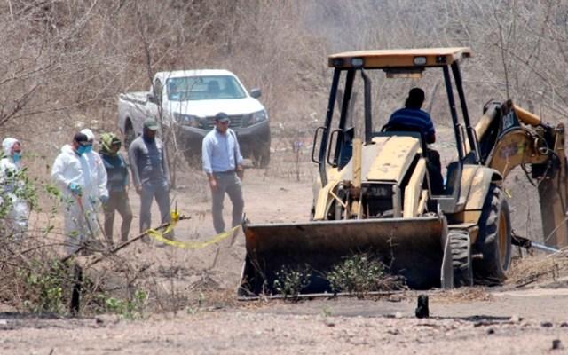 Suman siete cuerpos hallados en fosas clandestinas de Mazatlán - cuerpos fosas Mazatlán