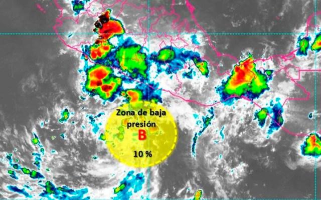 Probabilidad para desarrollo ciclónico al sur de Guerrero - desarrollo ciclónico guerrero