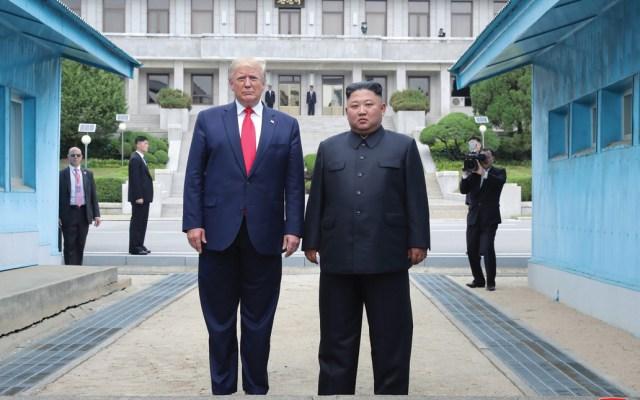 EE.UU. continuará negociaciones con Corea del Norte para solucionar problemas persistentes - donald trump t kim jong-un