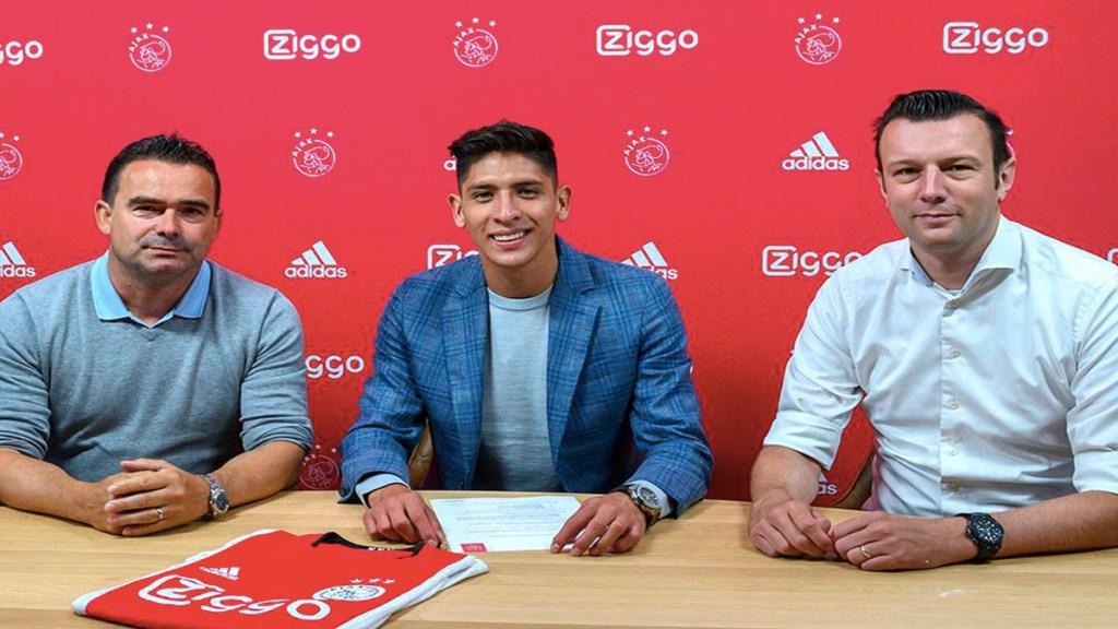 Ajax presenta a Edson Álvarez - edson álvarez ajax