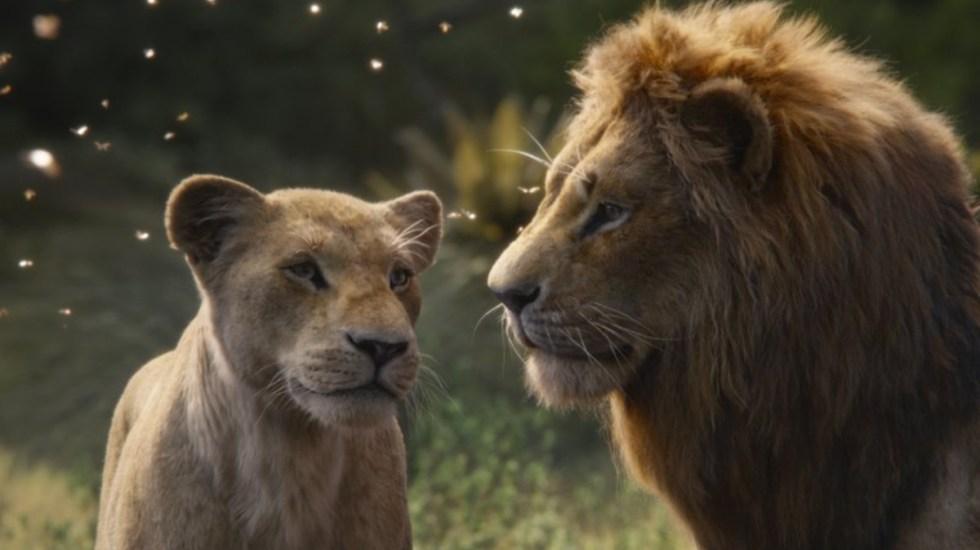 """El Rey León"" se apodera de la taquilla del fin de semana - el rey león taquilla"