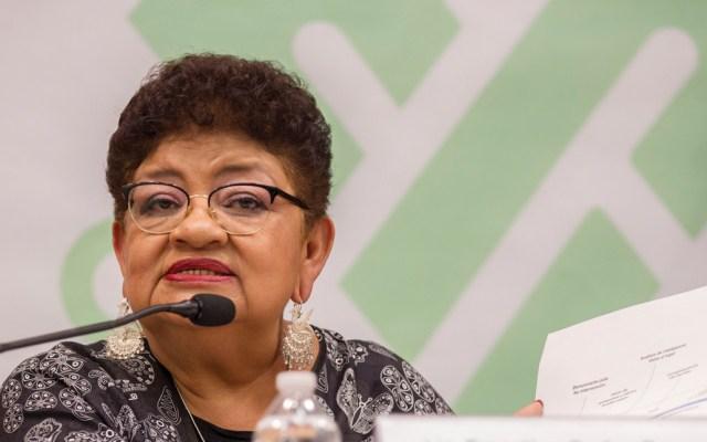 Eligen a Ernestina Godoy como la primera fiscal de la Ciudad de México; tiene que ser ratificada por el Pleno - Foto de Notimex