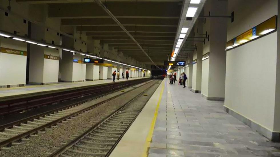 Estación de la Línea 12 del Metro. Foto de @MetroCDMX