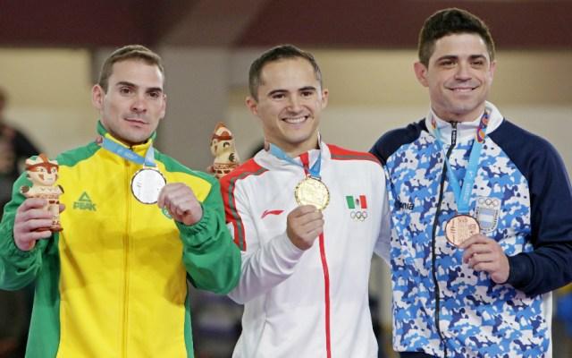Fabián de Luna, oro para México en gimnasia de Lima 2019 - Foto de Lima 2019